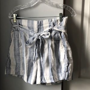 H&M Shorts - *6/$30* H&M Nautical Belted Shorts- 6
